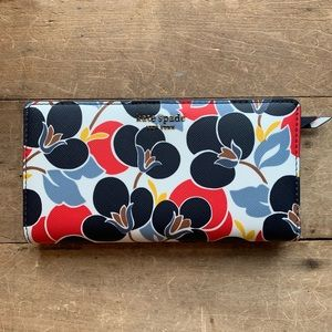 Cameron Street Stacy Wallet in Breezy Floral Multi